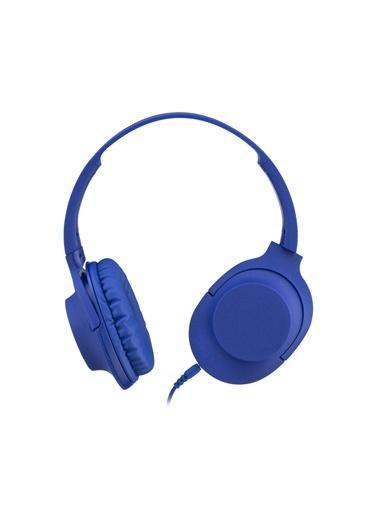 MF Product MF Product Acoustic 0105 Mikrofonlu Kablolu Kulak Üstü Kulaklık  Mor